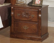 Acme Furniture Night Stand in Walnut Finish AC01723A