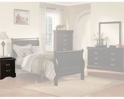 Acme Furniture Nightstand Louis Philippe in Black AC19503