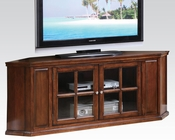 Acme Furniture Oak Corner TV Stand AC48618