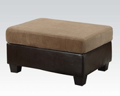 Acme Furniture Ottoman Connell Light Brown AC55947