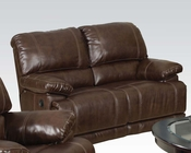Acme Furniture Reclining Loveseat Daishiro AC50746
