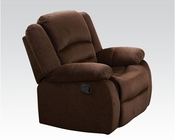 Acme Furniture Rocker Recliner Bailey Chocolate AC51032