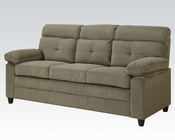 Acme Furniture Sofa in Brown Velvet Alicia AC51360
