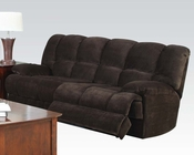 Acme Furniture Sofa in Chocolate Ahearn AC50475
