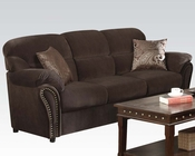 Acme Furniture Sofa Patricia Chocolate AC50950