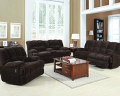 Acme Furniture Sofa Set in Chocolate Ahearn AC50475SET