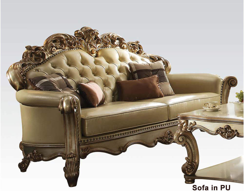 Furniture Sofa Vendome Gold