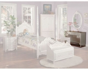 Acme Furniture Student Desk in Pearl White AC01017