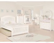 Acme Furniture Trundle in Cream and Peach AC00758