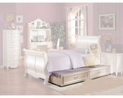 Acme Furniture Trundle in Pearl White AC01008