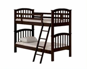 Acme Furniture Twin over Twin Espresso Bunk Bed AC02431
