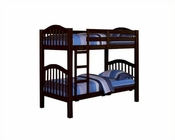 Acme Furniture Twin / Twin Bunk Bed in Espresso AC02554