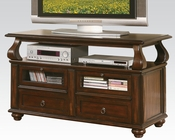 Acme Furniture Walnut Finish TV Stand AC91133