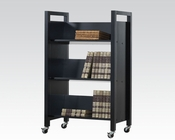 Acme Furniture Wenge Bookshelf Cart AC92136