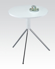 Acme Furniture White Side Table AC81570