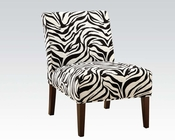 Acme Furniture Zebra Accent Chair AC59152