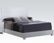 Acme High Gloss White Bed Lorimar AC22630BED