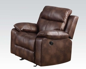 Acme Light Brown Recliner Dyson AC50817