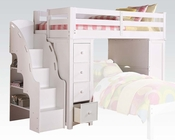 Acme Loft Bed & Bookcase Ladder AC37145