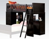 Acme Loft Bed in Black Finish AC10980A