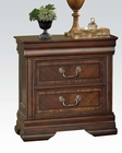 Acme Nightstand w/ Charging Dock Hennessy AC19458