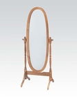 Acme Oak Cheval Mirror AC02289