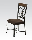 Acme Side Chair Jassi AC71122 (Set of 2)