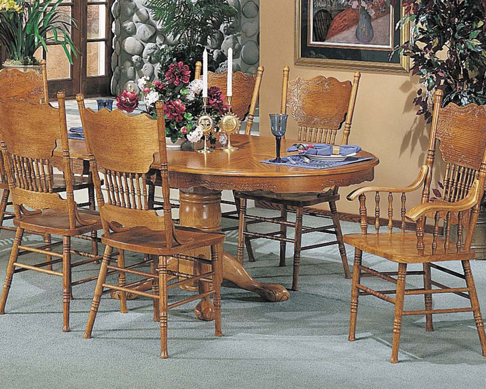 Acme Traditional Dining Set Nostalgia Ac02186a Set