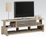 Acme TV Stand in Light Oak AC91135