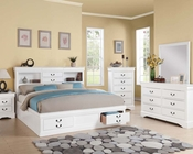 Acme White Bedroom Set Louis Philippe III AC24490SET