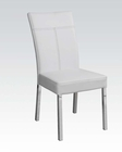 Acme White Side Chair Danny AC71254 (Set of 4)