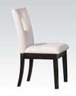Acme White Side Chair Danville AC10033 (Set of 2)