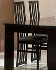*Adriana Modern Black Side Chair 44DADRCH (Set of 2)