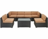 Aero Outdoor Sectional Set by Modway MY-EEI695