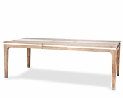 AICO 4 Leg Dining Table Biscayne West in Sand Finish AI-80000-102