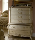 AICO 6 Drawer Chest Lavelle in Blanc AI-54070NTB-04