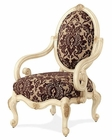 AICO Accent Chair Lavelle in Blanc AI-54834-TOPAZ-04