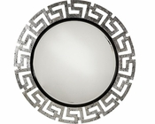 AICO After Eight Wall Mirror in Black Onyx AI-19260-88