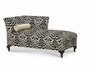 AICO After Eight LAF Chaise in Tiger AI-19842-TIGER-88