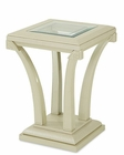 AICO After Eight Chair Side Table in Pearl Croc AI-19222-12