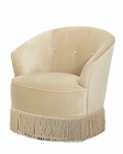 AICO After Eight Swivel Chair in Lt Gold AI-19839-LTGLD-00