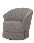 AICO After Eight Swivel Chair in Pepper AI-19839-PEPPR-00