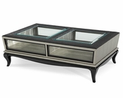 AICO After Eight Cocktail Table in Titanium AI-19201-16