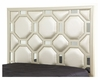 AICO After Eight Upholstered Headboard in Creamy Pearl AI-19000HB-CP