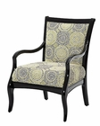 AICO After Eight Wood Chair AI-19834-GRBLK-88