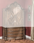 AICO Armoire Base Windsor Court in Vintage Fruitwood AI-70080B-54