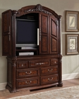AICO Armoire Monte Carlo II in Cafe Noir Finish AI-N53081TB-46