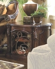 AICO Barrel End Table Essex Manor AI-N76222-57