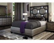 AICO After Eight Bedroom Set in Black Onix AI-190-BLK