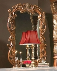 AICO Decorative Mirror Villa Valencia in Chestnut AI-72041-55